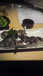 サバの炙り箱寿司