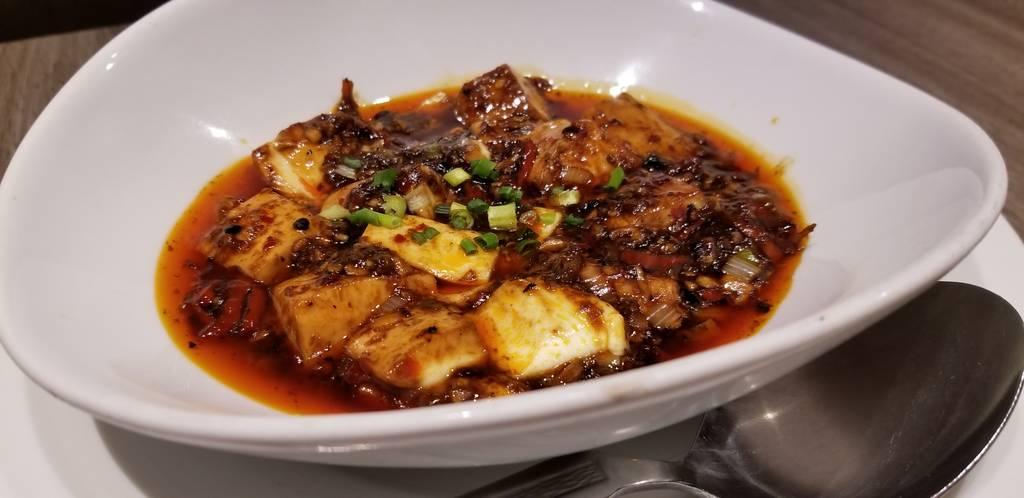 新麻婆豆腐定食