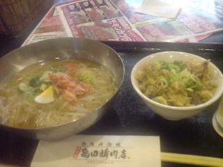 冷麺ランチ