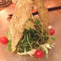 ジャコと京菜のサラダ