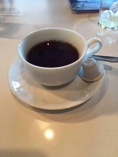 ランチのフリードリンク(ホットコーヒー)