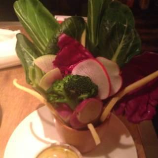 モリモリ野菜のバーニャカウダ
