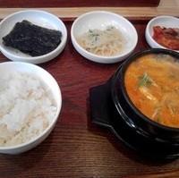 スンドゥブ定食(海鮮)