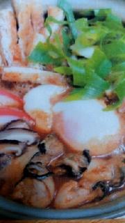 牡蠣味噌煮込み