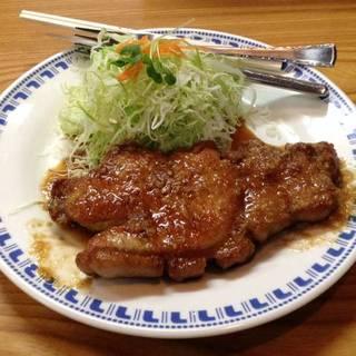 豚しょうが焼き定食