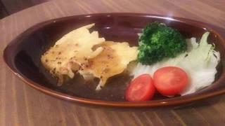 羽根つき豆腐ステーキ