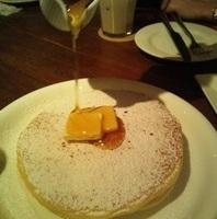 Plain Pancakes メイプルシロップ+フレッシュバター