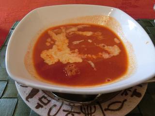 トマトとクリームのスープ