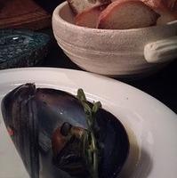 ムール貝のダジン蒸し