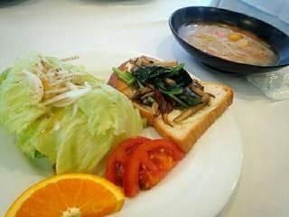 野菜たっぷりミネストローネスープ
