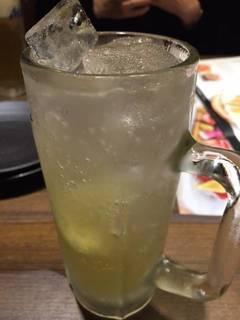 柚子サワー