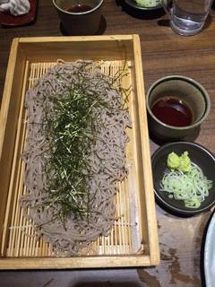 北海道産 石臼挽き生蕎麦