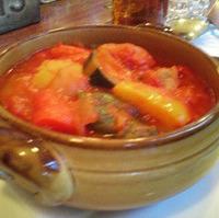 野菜のトマト煮込みラマンチャ風