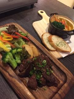 熟成牛ステーキ~ハラミ~
