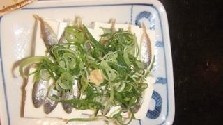 スクガラス豆腐