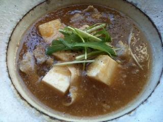 豆腐と豚バラのみぞれ煮
