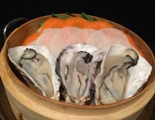 牡蠣のせいろ蒸し