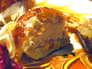 豚の角煮パイ包み