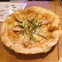 照り焼きチキンのピッツァ
