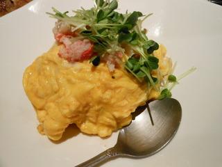 蟹チャーハン
