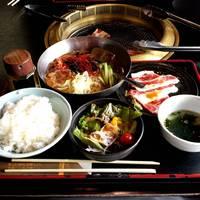 冷麺&焼肉ランチ