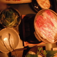 イベリコ豚の焼きしゃぶ