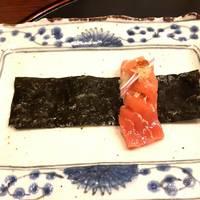 本マグロの手巻き寿司