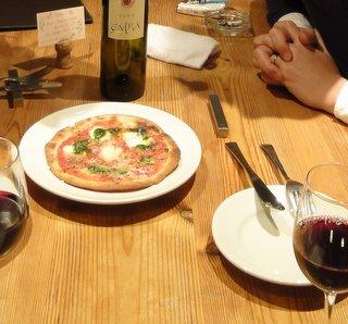 ピアディーナのピッツァマルゲリータ