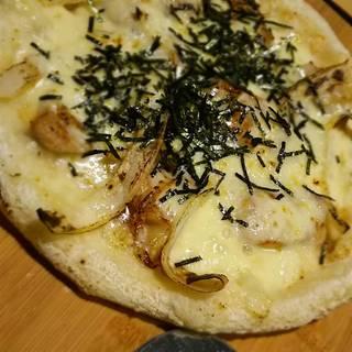 照り焼きのピザ