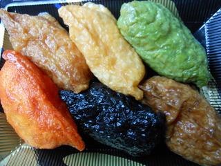 6色いなり/和食処松屋