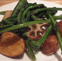 季節野菜のソテー  ニンニク風味