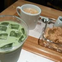 アイス抹茶ラテ・紅茶・わらび餅