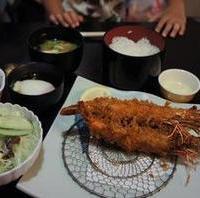 大海老フライ定食