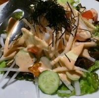 大根とチーズの明太サラダ