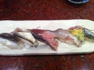 寿司の盛り合わせ/たいたいや(魚魚屋)