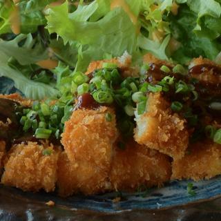 マグロホホの味噌カツ