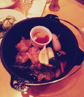 鶏肉と色々野菜の香草焼き