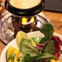 新鮮な旬野菜のバーニャ カウダ