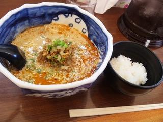 ゴマたっぷり鶏タンタン麺