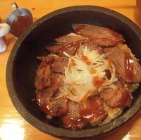 石焼きチャーギュー丼