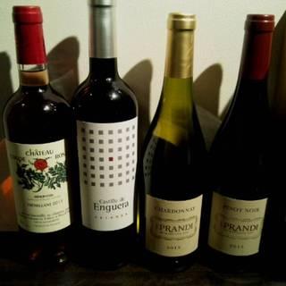 グラスワイン8種類