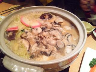 牡蠣鍋コース