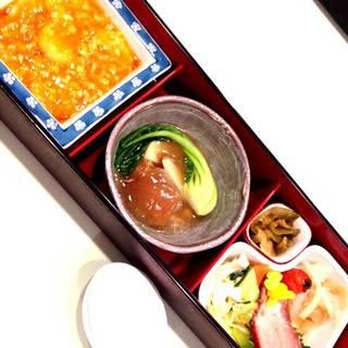 土日祝日限定ランチセット「午餐桃花(ウーサントウカ)」