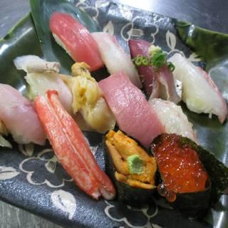 上生寿司12貫