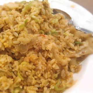 ひき肉とザーサイの炒飯