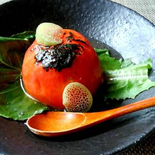 トマトの姿焼き
