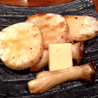 長芋とエリンギのバター醤油