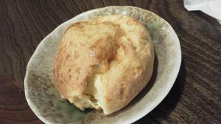 自家製もちもちチーズパン