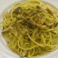 ボルチーニクリームスパゲッティ
