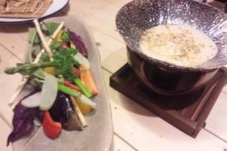 旬野菜の和風バーニャカウダー